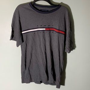 Tommy Hilfiger spell out flag tee size large